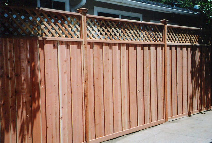 Redwood Fence Jayu0027s Redwood Fences :: Custom Wood Fences, Gates, redwood Enclosures ::  Los Angeles : San Fernando Valley ::